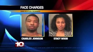 Female And Male Face Charges For Robbing Gas Station