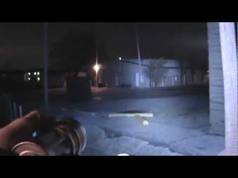 SkyRay King Beamshots outside 2K lumens SkyRay King