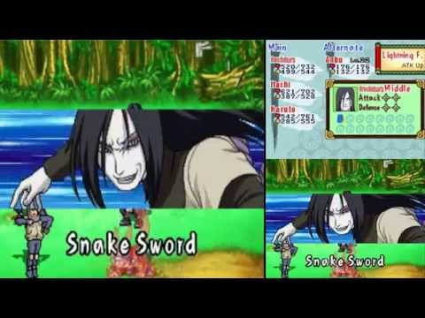 How to win every wifi battle - Naruto path of ninja 2