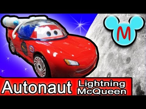 Cars Autonaut Lightning McQueen Diecast Disney Pixar Take Flight Moon Mater Cars Toon