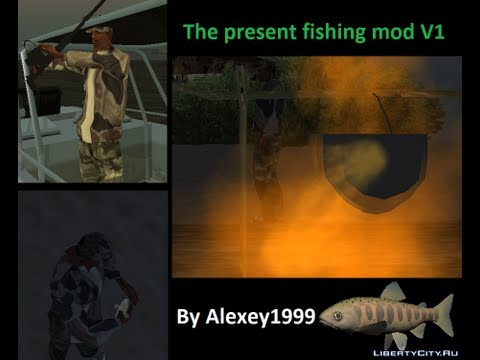 The present fishing mod (By Alexey1999) Настоящая рыбалка (мод от Alexey1999)